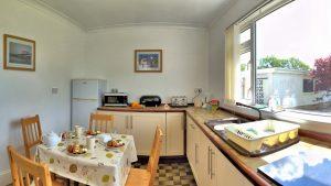 The Lovespoon House kitchen.