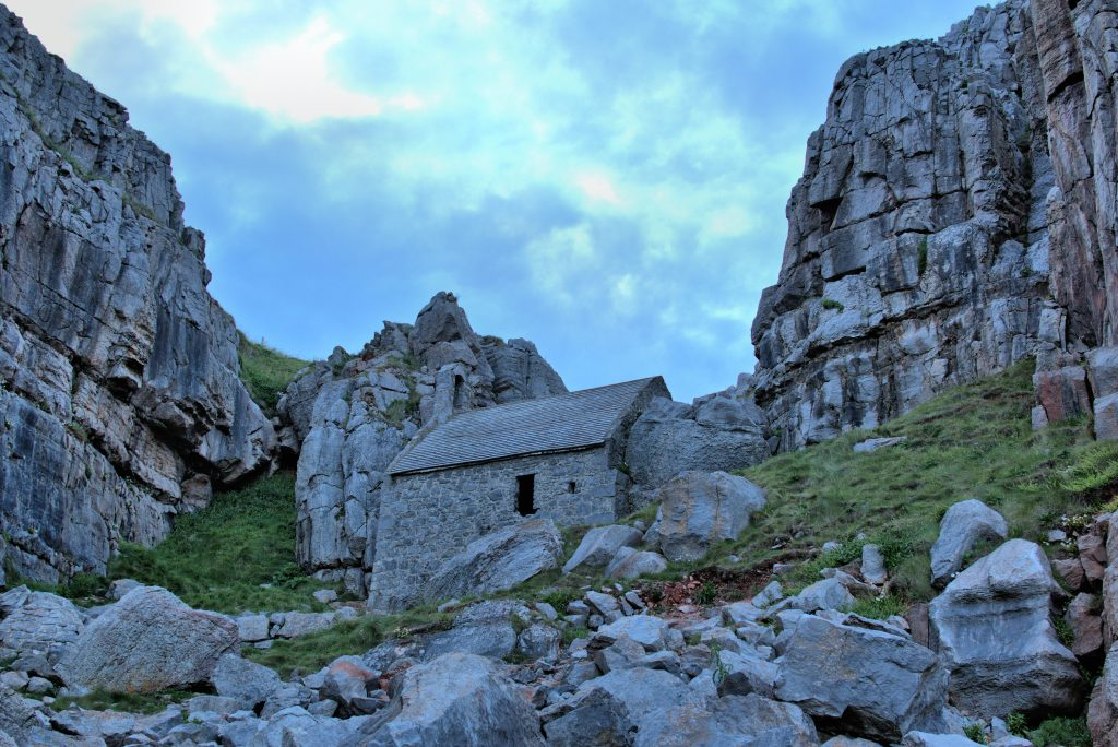 St. Govan's Chapel, another of Pembrokeshire's hidden gems.